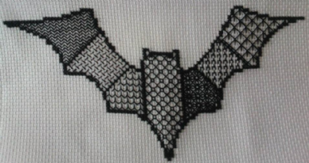 Blackwork Bat